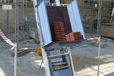 мини подъемник GEDA lift 250 comfort